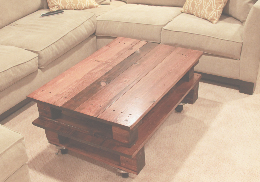 Amazing Diy Pallet Coffee Table Espresso And Creamespresso And Cream, Diy for Lovely Pallet Coffee Table Plans