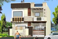 Amazing Double Story Home Elevation Design – Gharexpert regarding Review Indian Home Elevation Design Photo Gallery