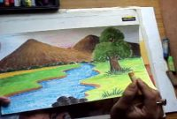 Amazing Easy Scenery Drawing For Std 6 Online Drawing Class – How To Draw with Landscape Drawing For Class 8