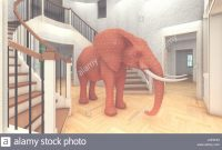Amazing Elephant In The Living Room 3D Rendering Stock Photo: 147853484 – Alamy in The Elephant In The Living Room