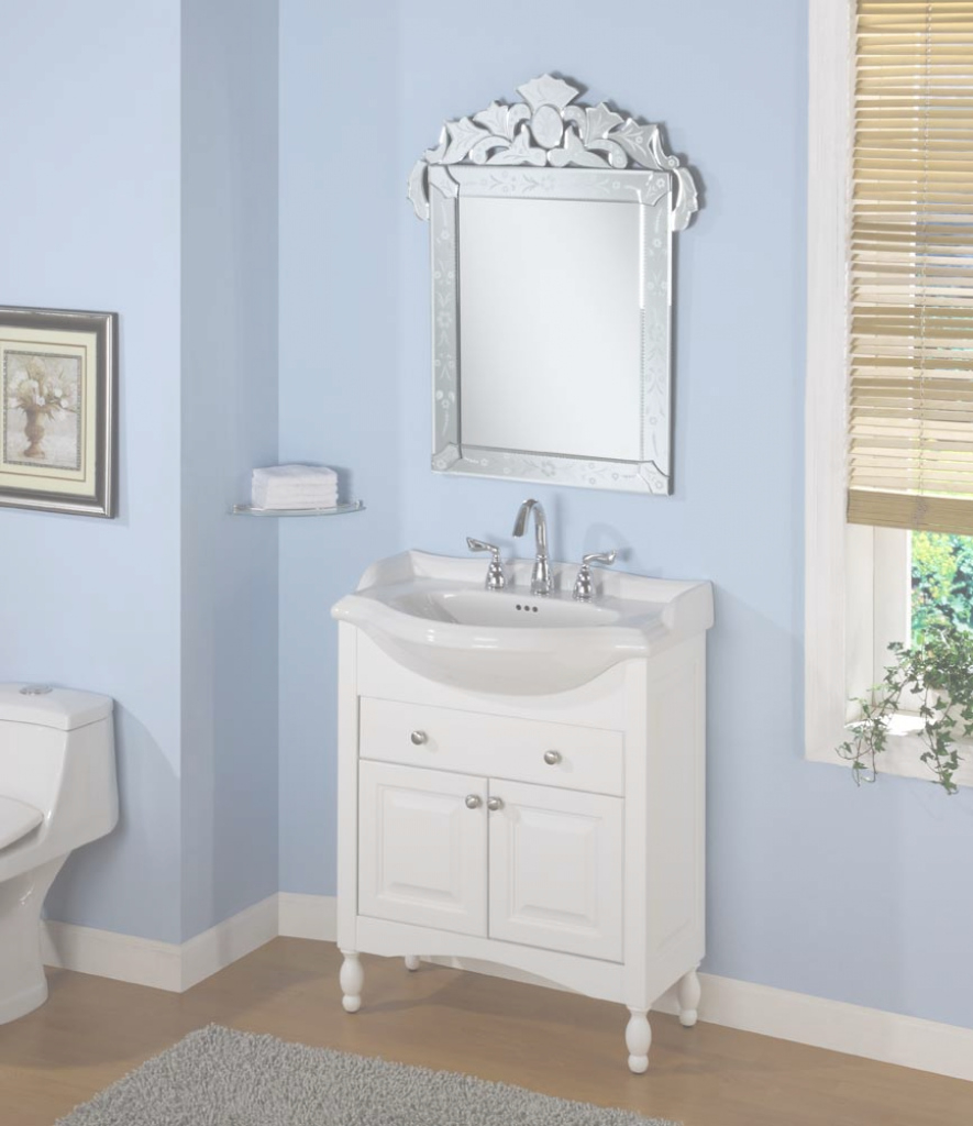 "Amazing Empire Industries - Windsor 30"" Shallow Depth Vanity - W30 intended for Inspirational Narrow Depth Bathroom Vanities"