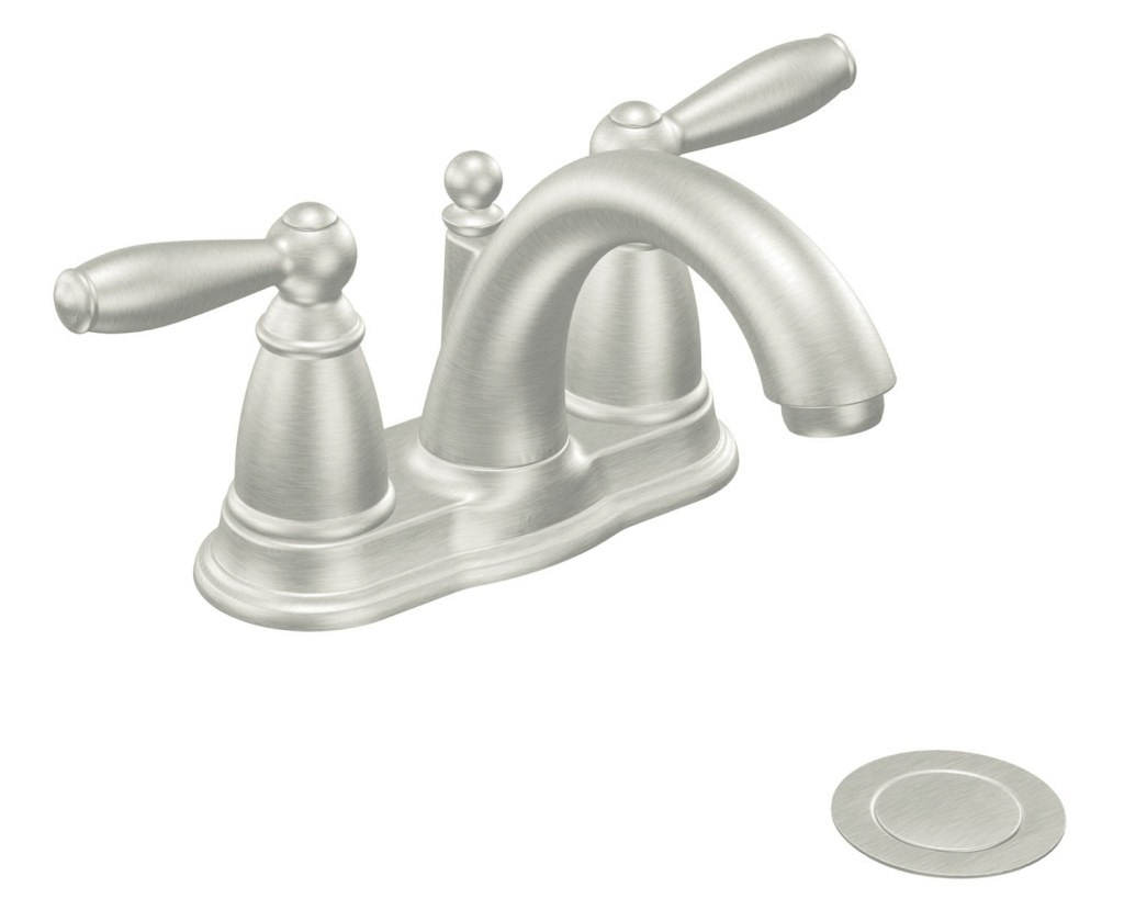 Amazing Exclusive Ideas Moen Brushed Nickel Bathroom Faucet New Trends Great intended for Inspirational Satin Nickel Bathroom Faucet