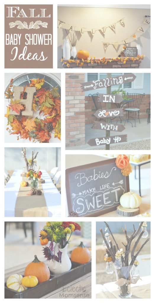 Amazing Fall In Love With Baby {Shower} - Eclectic Momsense within New Fall Baby Shower