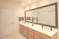 Amazing Framing A Bathroom Mirror – How To | Mirrorchic in New Large Bathroom Mirror