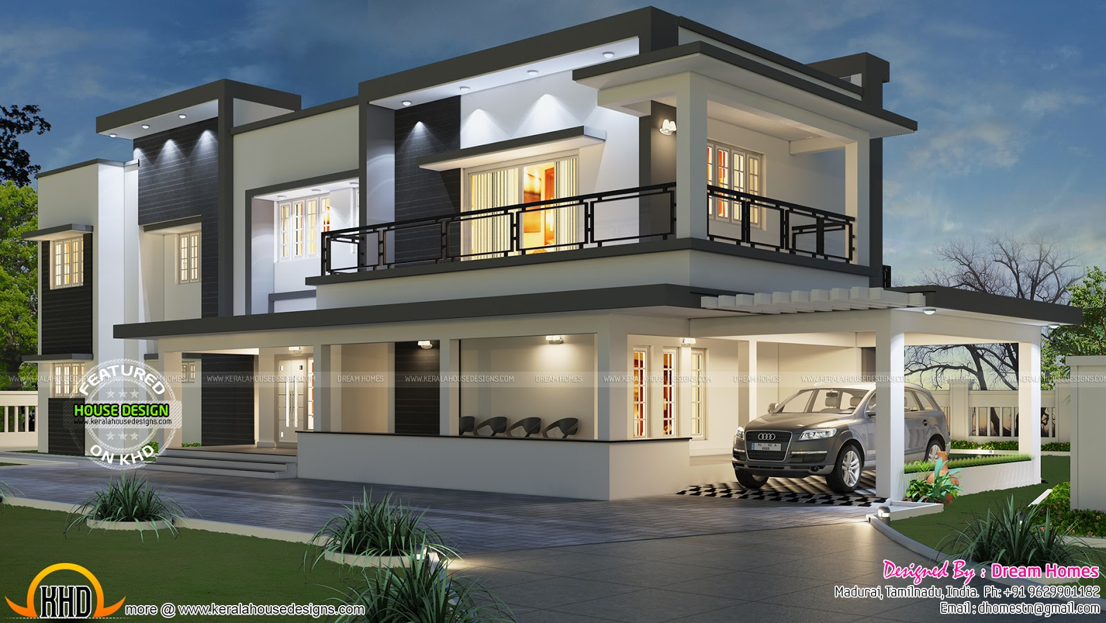 Amazing Free Floor Plan Of Modern House - Kerala Home Design And Floor Plans inside Kerala House Design With Floor Plans