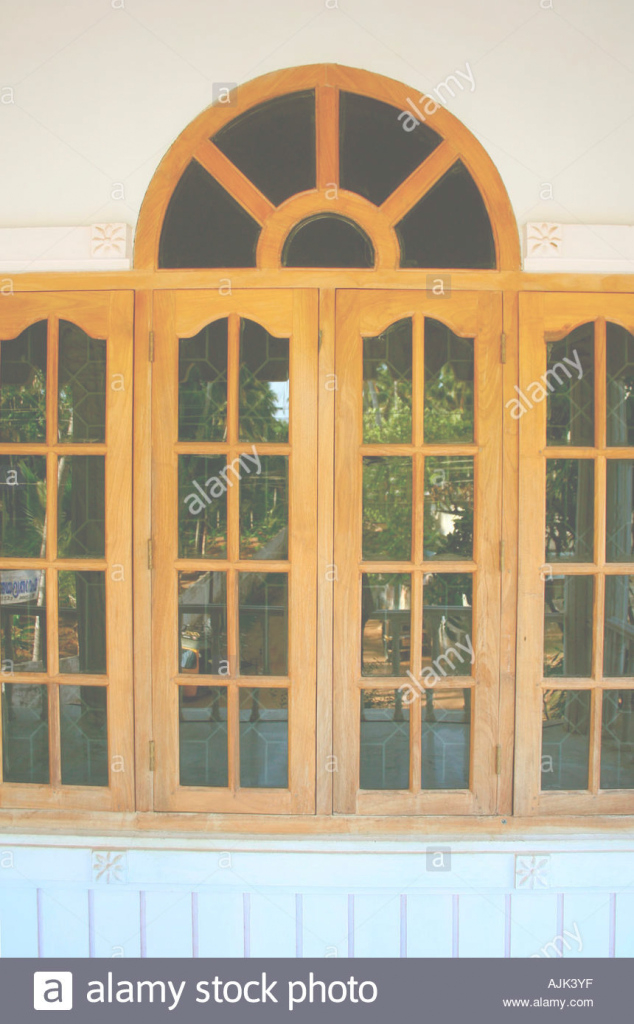 Amazing Glass Windows Of A Modern House, Kerala Stock Photo: 8432126 - Alamy within Window Design Glass