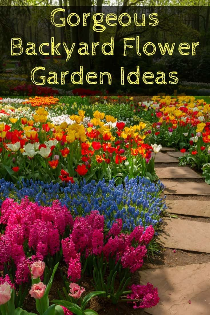Amazing Gorgeous Flower Gardens That Will Transform Your Backyard inside Backyard Flowers