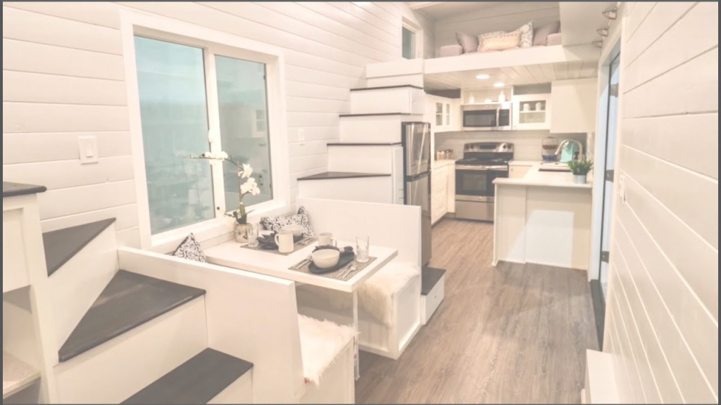 Amazing Gorgeous Tiny House With A Split Level Floor Plan - Youtube with Good quality Tiny House Split Level