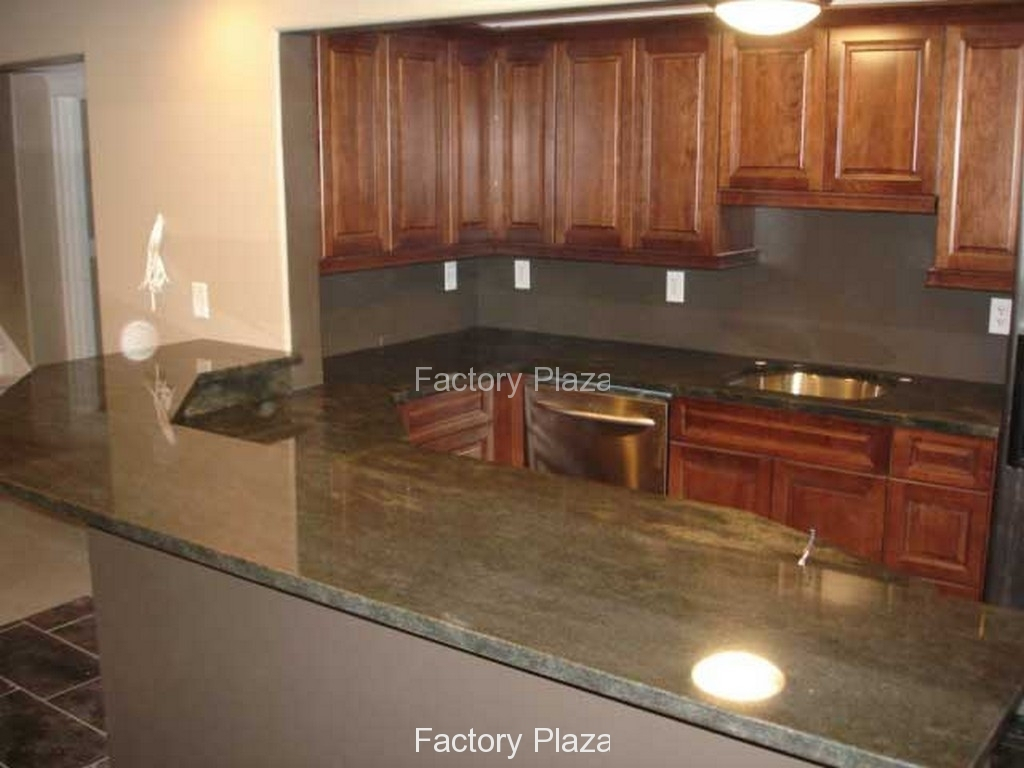 Amazing Granite Countertops - No Backsplash throughout Beautiful Kitchen Without Backsplash