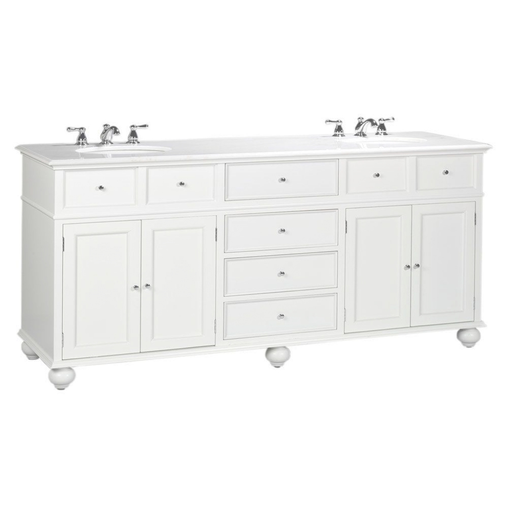 Amazing Home Decorators Collection Hampton Harbor 72 In. W X 22 In. D Double for Lovely 72 Bathroom Vanities