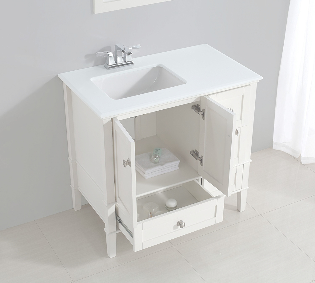 Amazing Home Design : Bathroom Vanity With Sink Bathroom Vanity Sinks Small throughout Small Bathroom Vanity With Sink