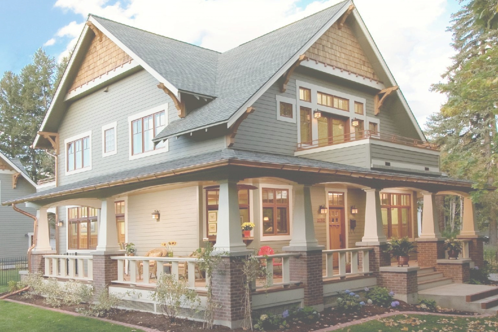 Amazing Home Design Craftsman Bungalow Style Homes Farmhouse Large House within What Is A Bungalow Style Home
