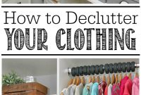 Amazing How To Declutter Your Clothing – Clean And Scentsible with How To Declutter Your Bedroom