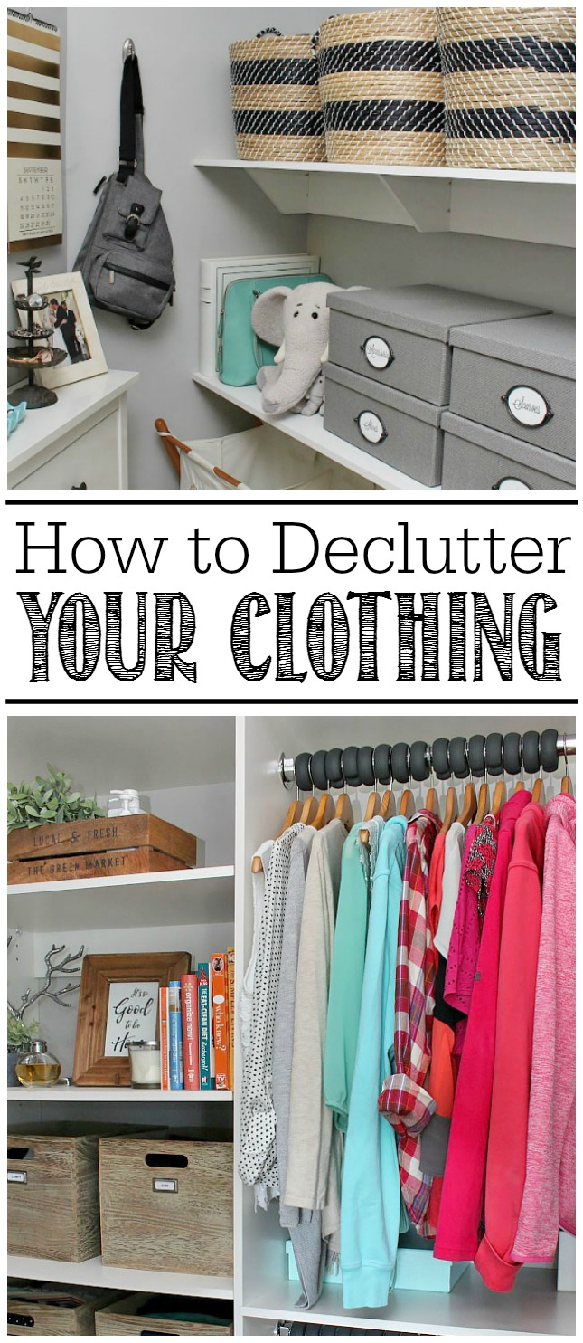 Amazing How To Declutter Your Clothing - Clean And Scentsible with How To Declutter Your Bedroom