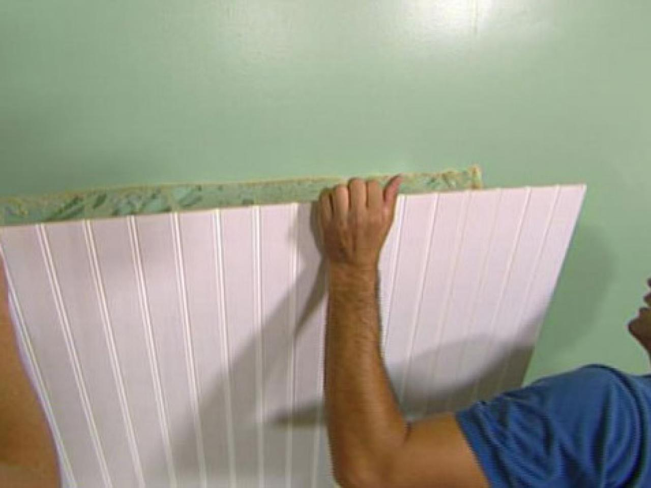 Amazing How To Install Beadboard Wainscoting | How-Tos | Diy intended for Diy Beadboard