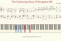 "Amazing How To Play Piano: The Beatles ""the Continuing Story Of Bungalow with regard to Fresh Bungalow Bill Chords"
