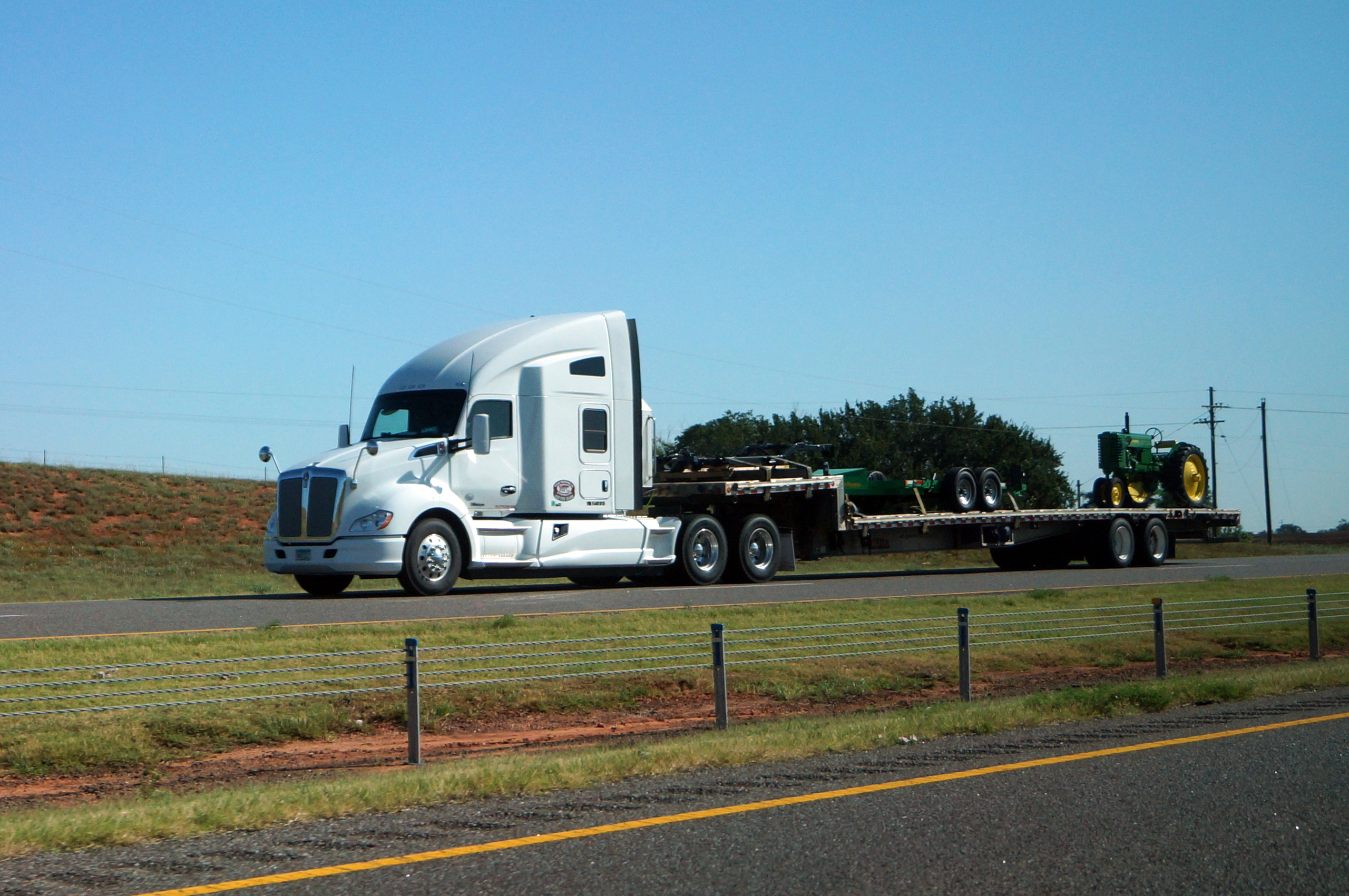 Amazing I-40 Amarillo,tx ➙ Oklahoma City, Ok - Pt. 5 for Luxury Ashley Furniture Trucking