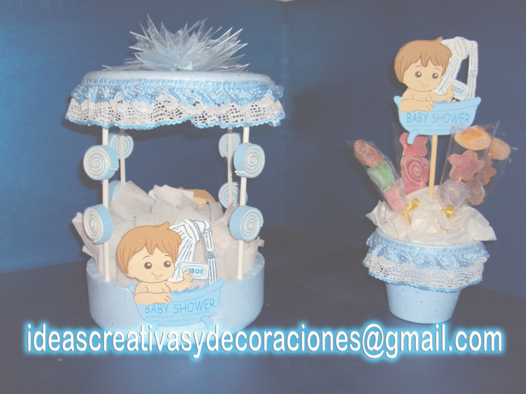 Amazing Ideas Creativas Diferentes Para Tus Eventos O Para Regalar | Asami throughout Set Centros De Mesa Para Baby Shower Economicos