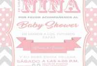 Amazing Invitacion Baby Shower Elefante Rosa | Baby Shower | Pinterest intended for Review Invitaciones Baby Shower