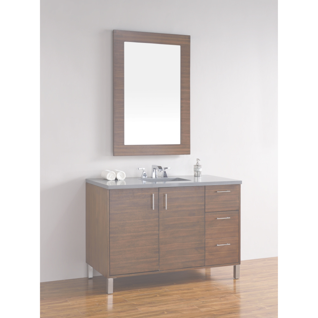 Amazing James Martin 850-V48-Awt-3Shg Metropolitan Shadow Gray Single Basin pertaining to James Martin Bathroom Vanities