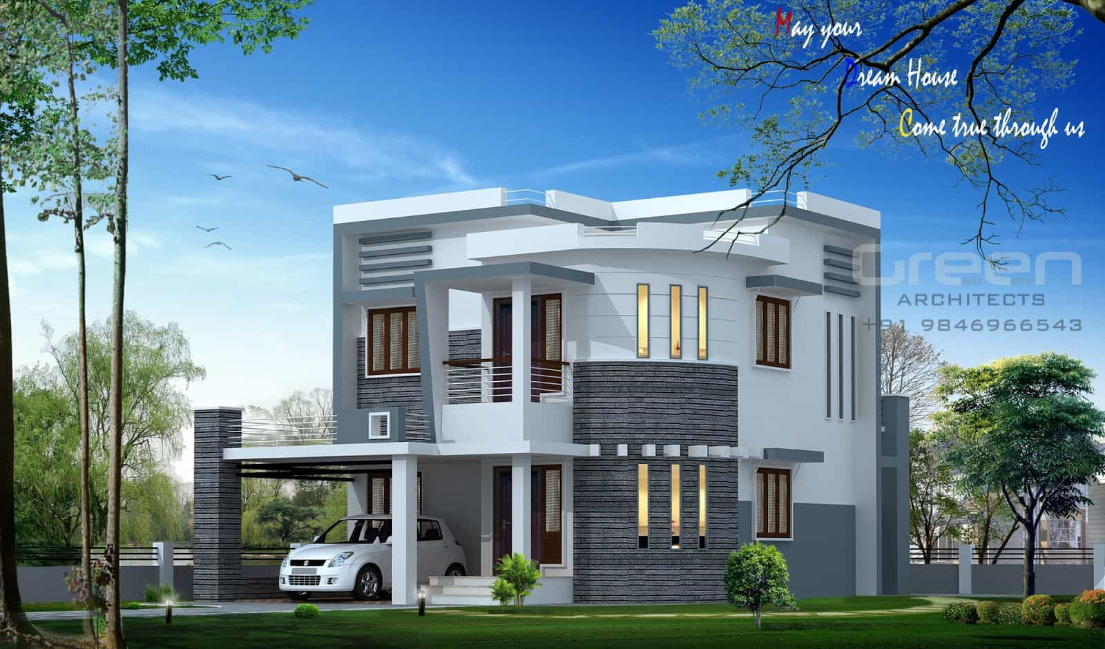 Amazing Kerala House Plans - Keralahouseplanner for New House Plans In Kerala
