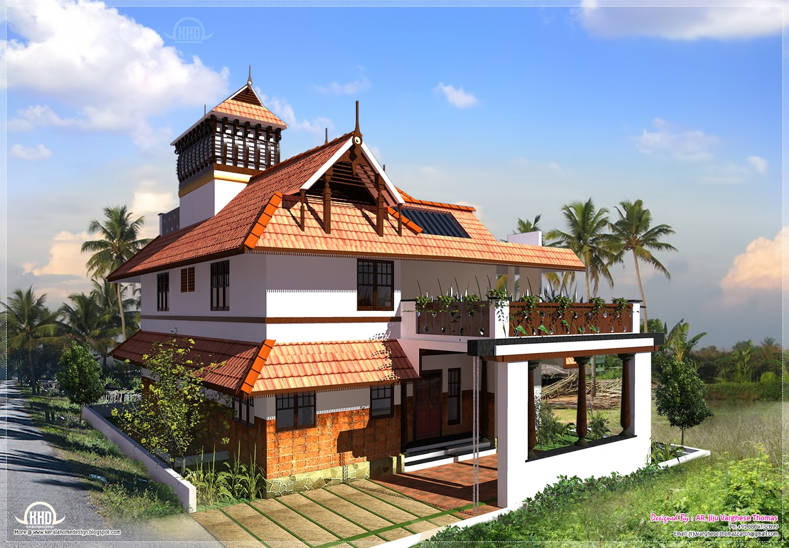 Amazing Kerala Traditional Home In 2000 Square Feet - Kerala Home Design And pertaining to Kerala Traditional House Plans With Photos