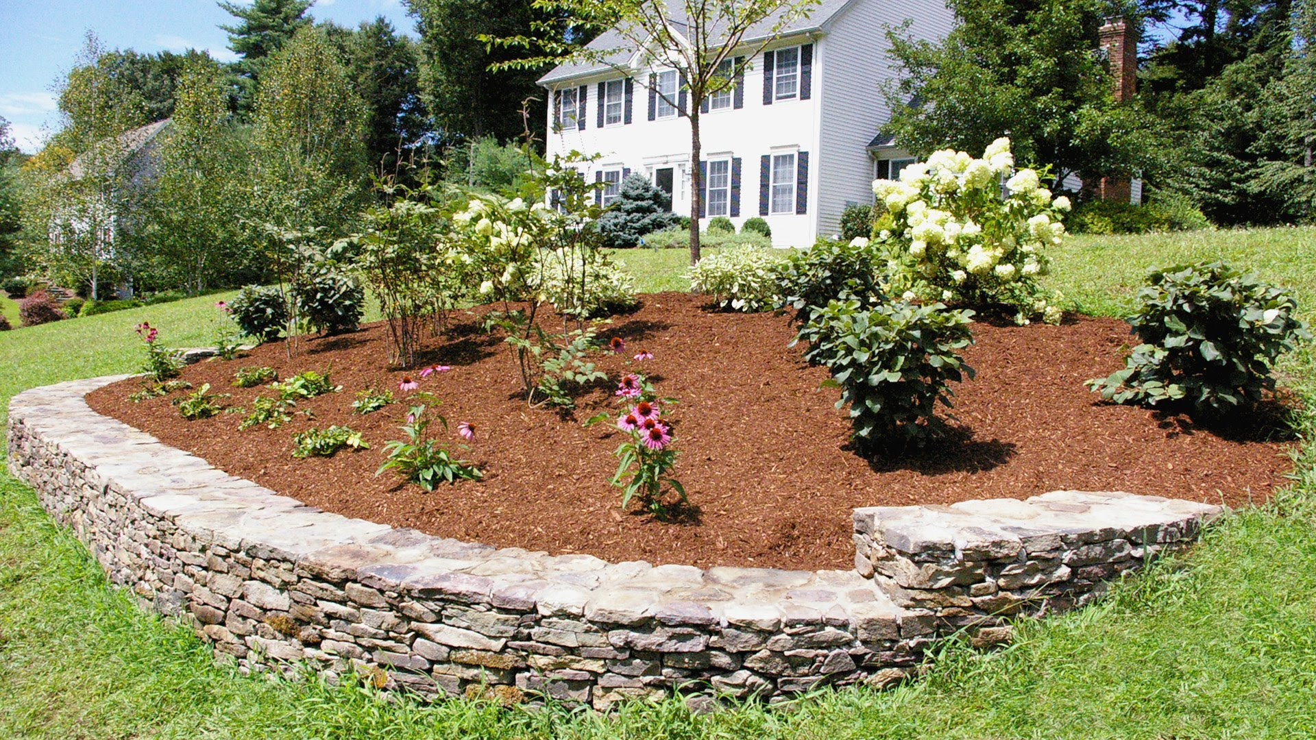 Amazing Landscaping Ideas For A Front Yard: A Berm For Curb Appeal - Youtube throughout Elegant Yard Landscape Pictures