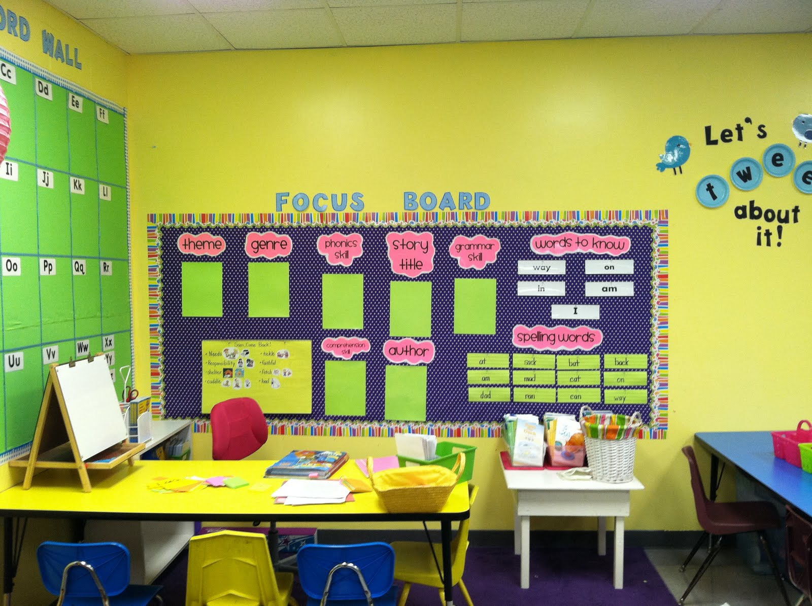 Amazing Life In First Grade: Classroom Decorating: Day Four regarding Classroom Decorating Themes