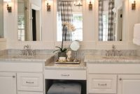 Amazing Live Beautifully: Center Hall Colonial | Master Bath Vanity And throughout Master Bathroom Color Ideaslittle Girl Bath