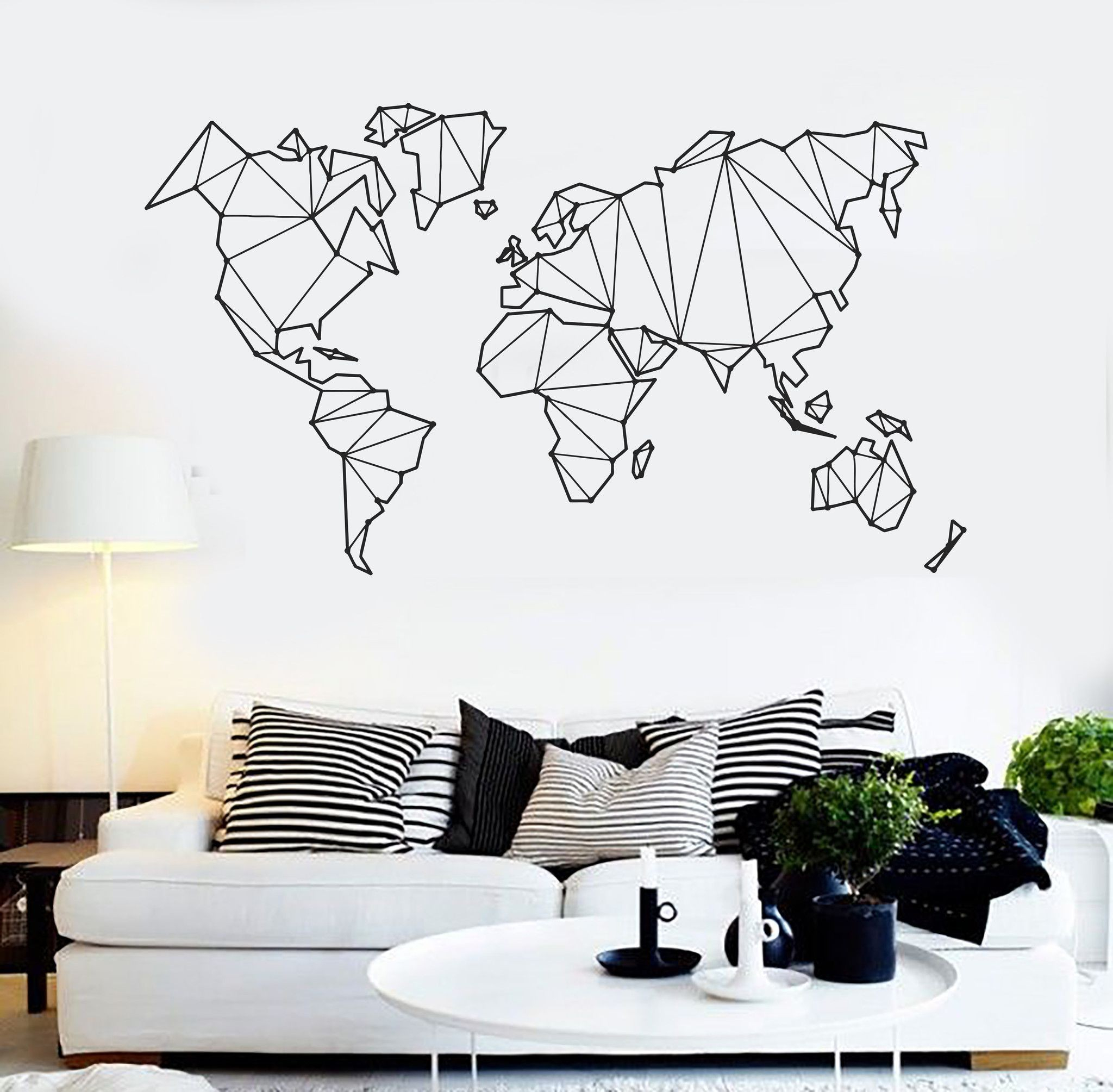 Amazing Living Room : 27 Modern Living Room Decals Astonishing Vinyl Wall in Living Room Decals