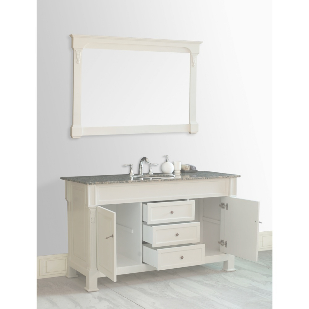 Amazing Magnificent 60 Inch Single Vanity 12 Sink Bathroom | Onlyhereonlynow throughout 60 Inch Single Sink Bathroom Vanity