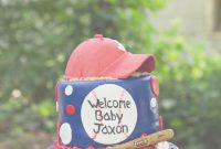 Amazing Make It Special {Cakes}Bridgette: Baseball Baby Shower with Fresh Baseball Baby Shower Cakes