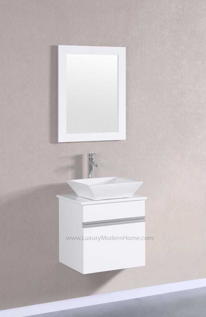 "Amazing Marcus - 20"" Small White Vanity Sink inside Unique Small Bathroom Vanity With Sink"