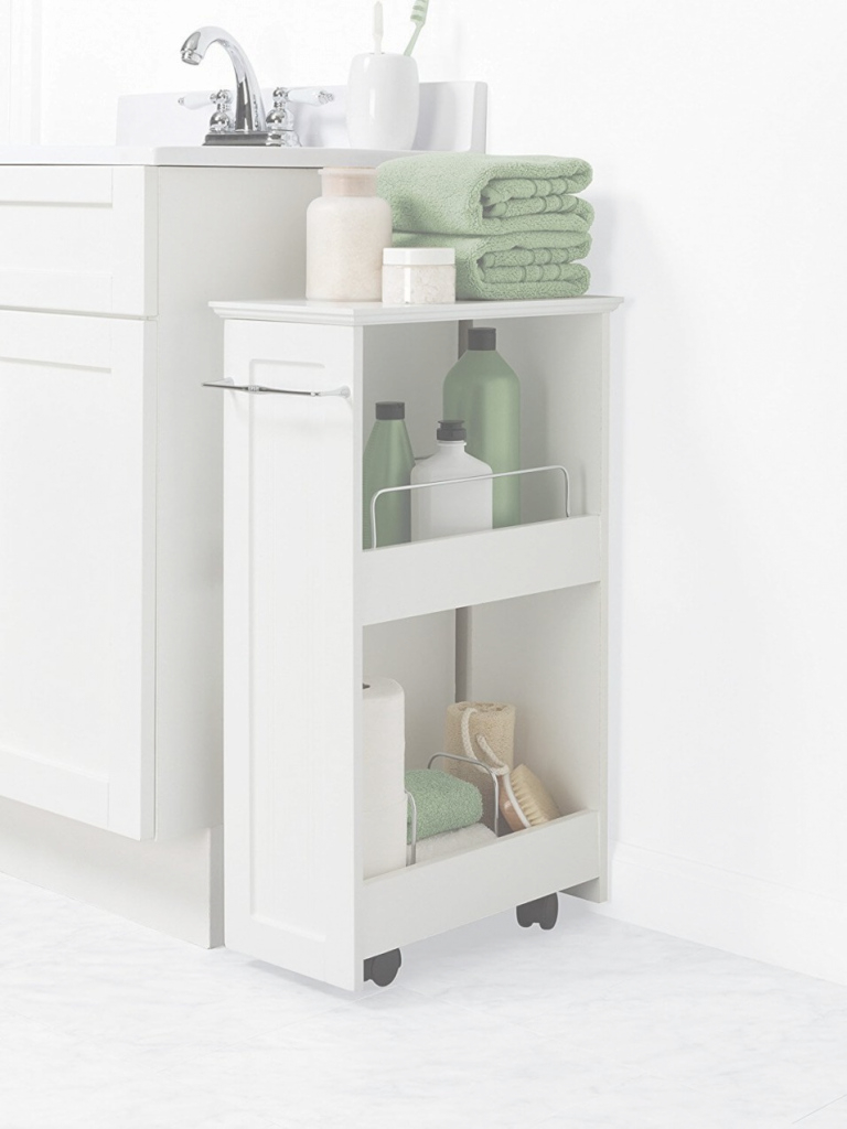 Amazing Marvellous Design Narrow Bathroom Storage Cabinet Cabinets Slim regarding Review Bathroom Floor Storage