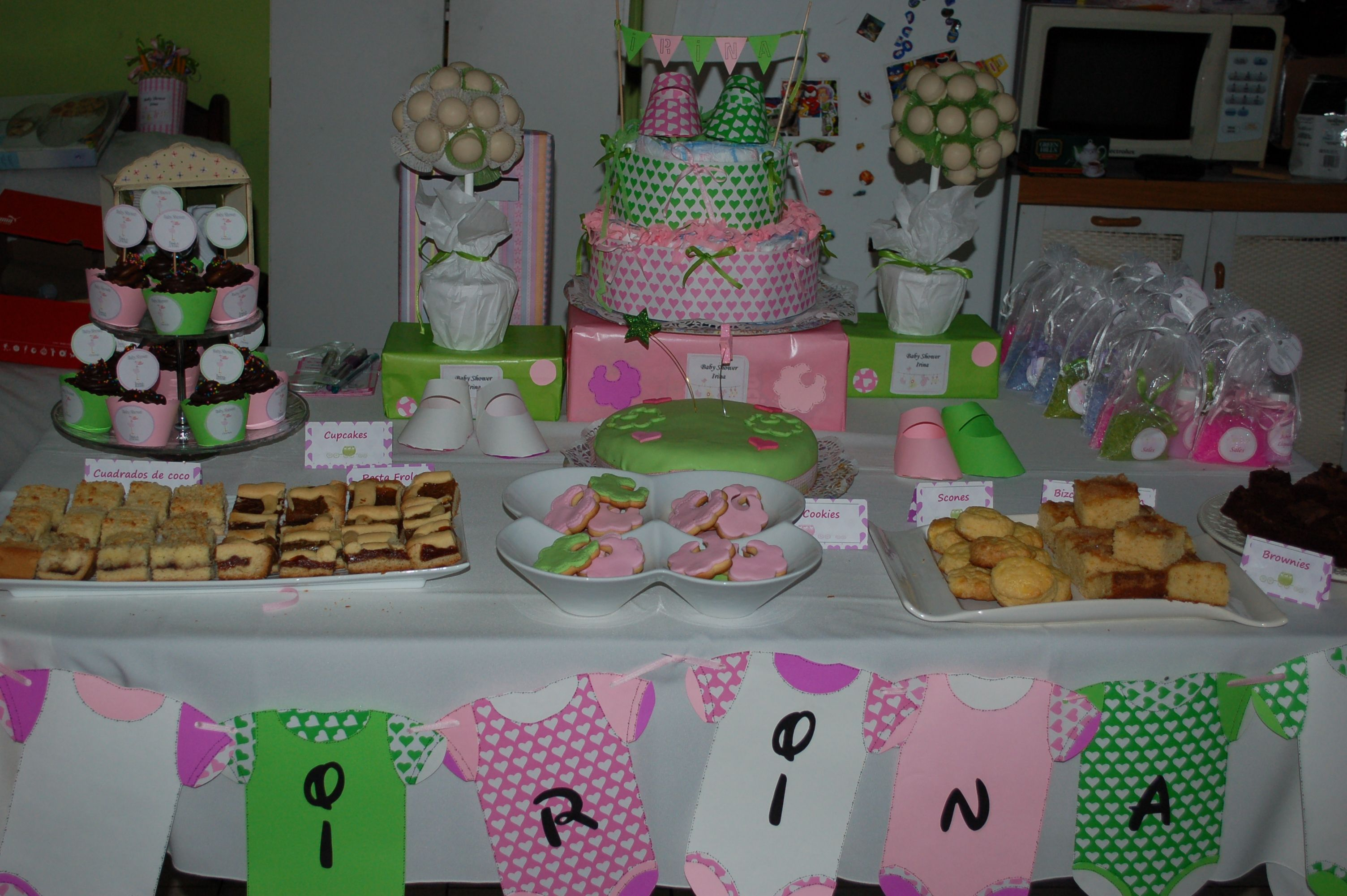 Amazing Mesa Dulce Para Baby Shower De Irina | Baby Shower | Pinterest within New Mesa De Dulces Para Baby Shower