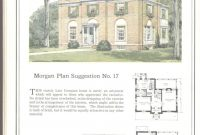 Amazing Morgan Plan No. 17 — One Of Many Plans Both Large And Small In throughout Best of Modern Georgian House Plans Stock