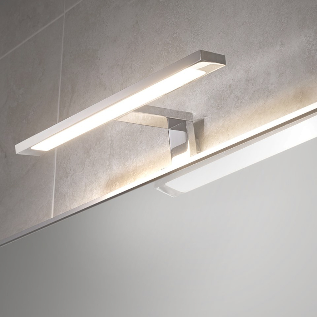 Amazing Neptune Cob Over Mirror T-Bar Light with regard to Over Mirror Bathroom Light