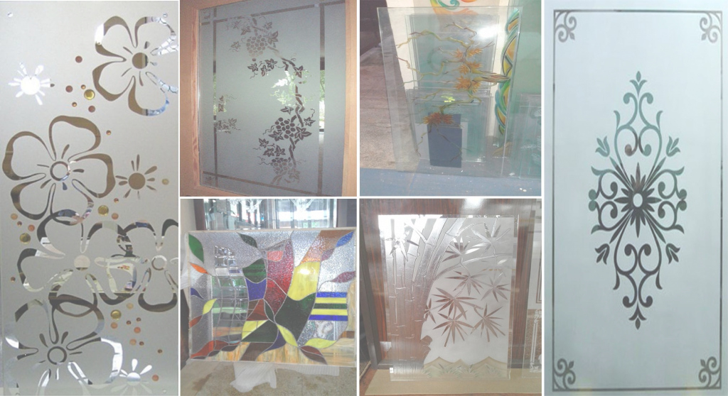 Amazing Nice Pictures Of Glass Etching Designs Images - Best Home Design regarding Window Glass Design In Kerala