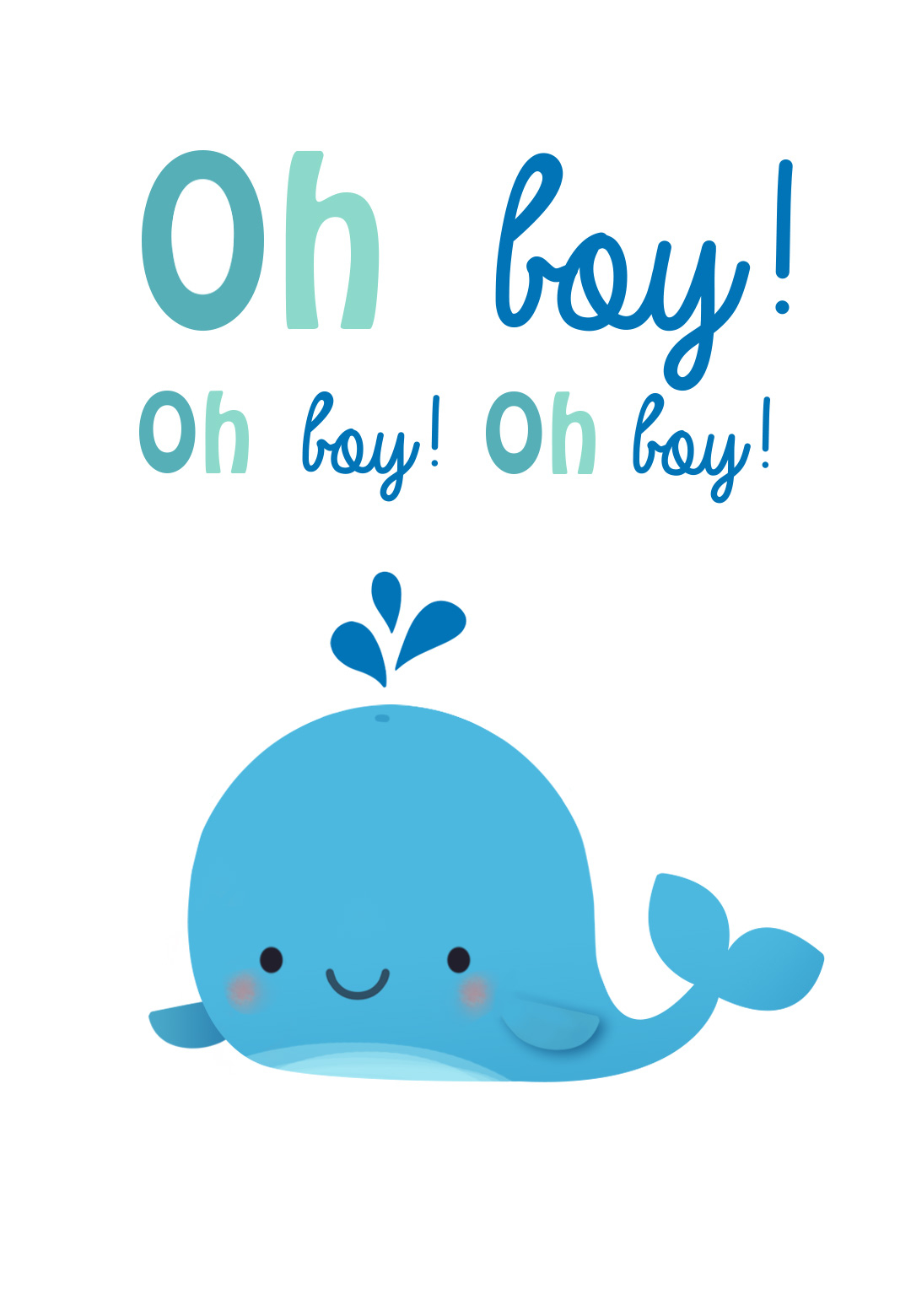 Amazing Oh Boy - Free Baby Shower & New Baby Card | Greetings Island pertaining to Luxury Baby Shower Congratulations