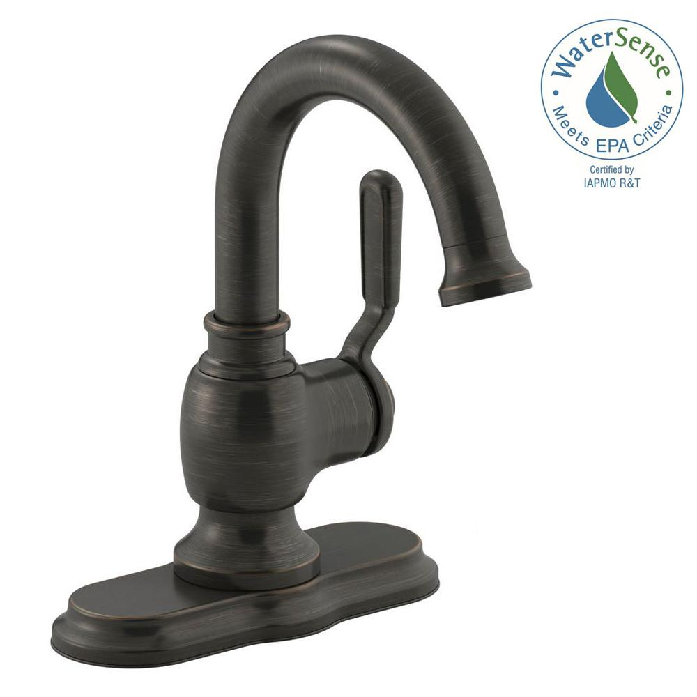 Amazing Oil Rubbed Bronze - Bathroom Faucets - Bath - The Home Depot in Bathroom Faucet Oil Rubbed Bronze