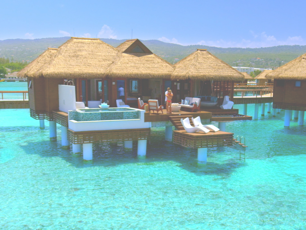 Amazing Overwater Bungalows Caribbean - Business Insider with Over The Water Bungalows In Caribbean