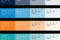 Amazing Print Colors | Ucsf Brand Identity within Branding Color Schemes