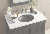 Amazing Quartz Bathroom Vanity Top In Whisper White | Native Trails inside White Bathroom Vanity With Top