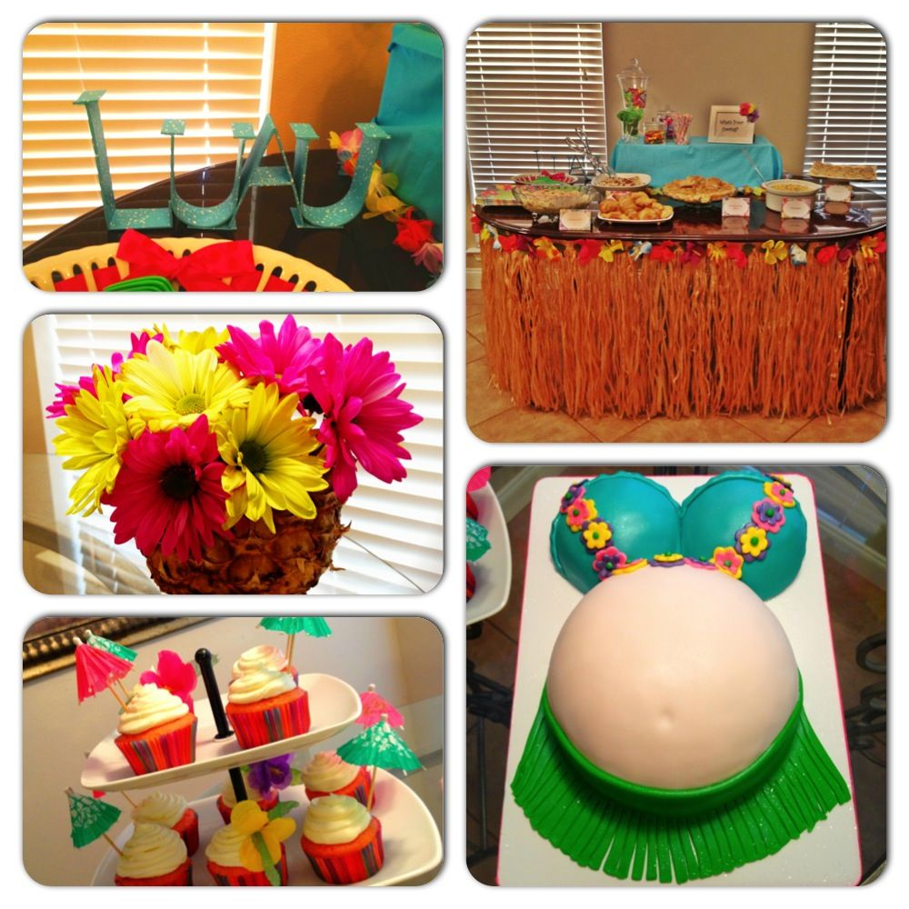 Amazing Sandra!!! This Is Totally Cute And Perfect For Summer.luau Baby within Review Summer Baby Shower Ideas
