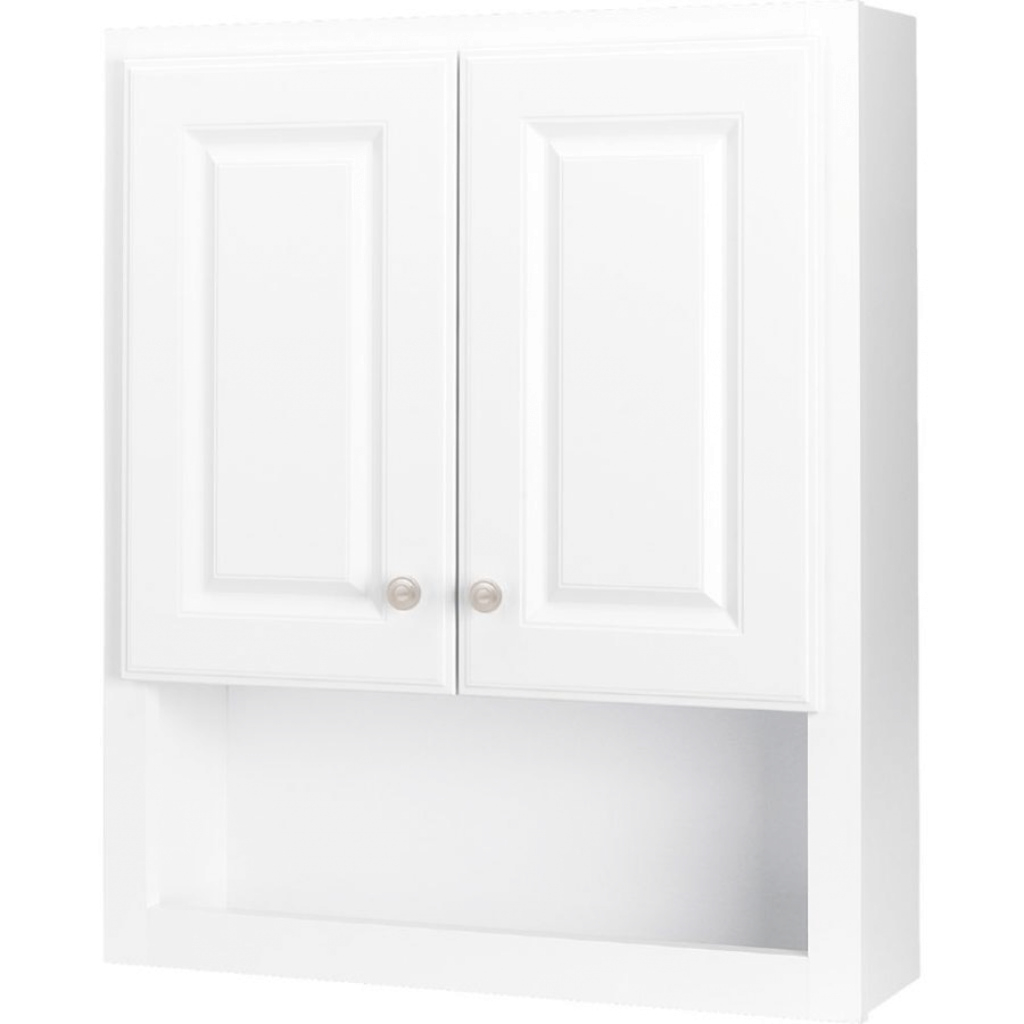 Amazing Shop Bathroom Wall Cabinets At Lowes for Set Wall Bathroom Cabinets