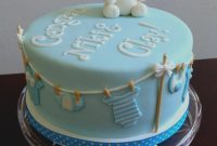 Amazing Simple Ideas Baby Shower Cake Recipes Reveal Cake He Or She This pertaining to Baby Shower Cake Recipes