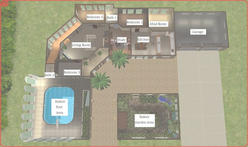 Amazing Sims 3 House Plans Best Of Floor Sims 2 House Floor Plans throughout Awesome Sims 2 House Layout