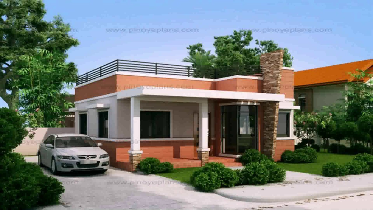Amazing Small Bungalow House Design With Floor Plan - Youtube within Inspirational Small Bungalow
