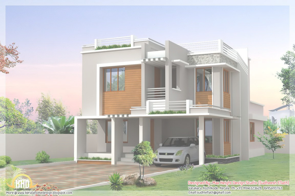 Amazing Small Modern Homes | Images Of Different Indian House Designs Home inside Indian Home Exterior Design Photos Middle Class
