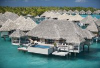 Amazing Somewhere Over The Water: 5 Overwater Bungalows In The Islands Of Tahiti for High Quality Bungalow Vacations